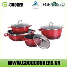 4pcs Induction cooking coating pan Sauce Pot set