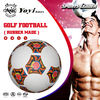 professional supply rubber football with pebble body / golf body / smooth body