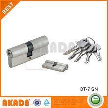 Zinc alloy double key hole lock cylinder wth thicker keys