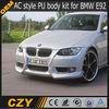 E92 PU AC style car body kit for BMW 3 class E92
