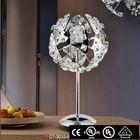 luxury crystal 2014 high quality new modern wood table lamp handmade wood t1149