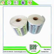customized high quality roll sticker