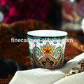 nuova ammenda bone china di lusso antico vaso da fiori in ceramica di cachemire