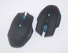 6 BUTTON PC USB OPTICAL WIRELESS GAMING MOUSE 2.4GHZ