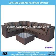 Hot sell aluminum wicker rattan garden furniture