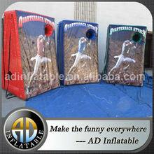 Giant inflatable basketball hoop