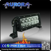Aurora 100% optically clear 6inch LED light bar for mini pickup truck