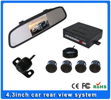 Video parking sensor with 4.3inch rear view monitor&camera