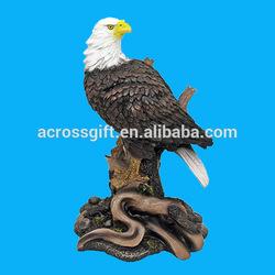 Hotsale Eagle Resin Sculptures For Home Decoration