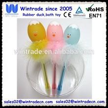 Plastic egg pen/Easter toy gift pen/led light toy pen