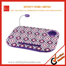 Versatile Deluxe Lap Tray Cushion with Light