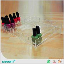 Guangzhou Wholesale Manufacturer brand acrylic nail polish rack stand