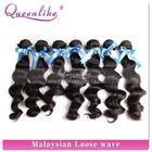 Free sample Guangzhou virgin loose curl Malysian 3 bundles hair weaving 100% virgin hair