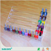 Guangzhou Wholesale Manufacturer 3 tiers acrylic nail polish display stand display