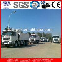 New Shacman 340hp dump truck diesel mining off road dumper tipper truck