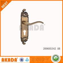 light Europe short plate little door handle