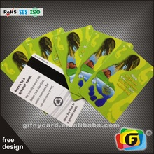 Customized Plastic Membership and ID Cards