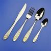 stainless steel cutlery/tableware/flatware, spoon and fork set , honey extractor used