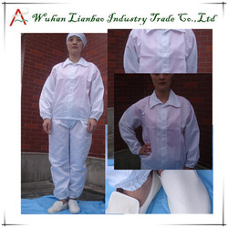 Hot Selling Blue or White electrical safety suit LAB-CL-11 non woven disposable kids coverall