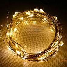 2M 5M 10M 50M 100M 200M copper wire ultra thin led fairy led string lights
