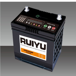 58500 DIN 60 12V 60AH Auto batteries Car battery used on automobiles