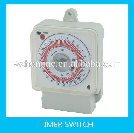 zeitschaltuhr 24 stunden mechanischer timer