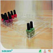 Guangzhou Wholesale Manufacturer acrylic nail polish display stand bag