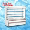 Dependable performance used supermarket refrigeration equipment for drinks/fruits/vegetable