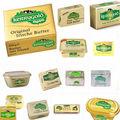 Impression personnalisée feuille d'aluminium laminé margarine d'emballage du beurre
