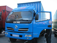 5t dry van truck,commercial truck,cheap box truck of DongFeng