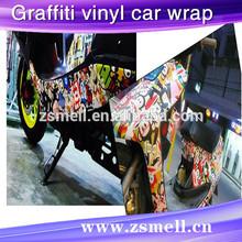Air FREE Hot Cartoon Figures Bomb Sticker Car Wrap Vinyl