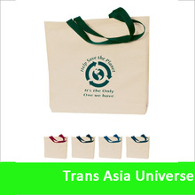 Hot Selling Promotional cheap recyclable shopping cotton bag