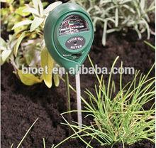 3 em 1 jardim de plantas de ph do solo testador de umidade e luz metros