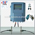 Registran 200000 transductores múltiples a mano- celebrada/asimiento de la mano tds-100h medidores de flujo ultrasónico para el aceite