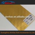 1.52*30m corpo tamanho etiqueta 3d cromo ouro carro envoltório do vinil
