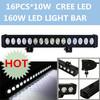 "160W sxs hot 4x4 led light bar 28"" 6000K WHITE LED OFF ROAD 4X4"