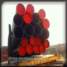 API 5L X40 X65 black ERW LSAW oil&gas welded line steel pipe