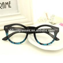 Fashion Model Computer eyewear glasses with anti radiation lens