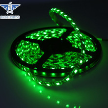 waterproof 5050 led strip 300 leds 5050 green color 60SMD ip65