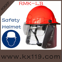 Protective fire helmet safety helmet for Fire fighting