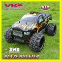 Brinquedo 1/5 2WD RC gas powered carro truuggy chama monstro