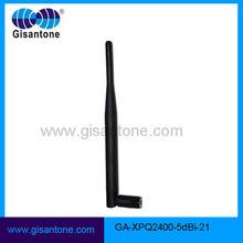 OEM 2400-2500MHz Rubber Antenna Wireless Wifi 2.4GHz 5dBi Antenna