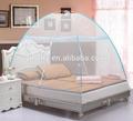 de peso ligero portátil plegado cama de mosquitos para redes de cama doble