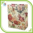 Flower pattern printing paper bag shopping bag wedding gift bag