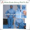 Venta caliente de color azul o blanco médica lab-cl-05 traje de vuelo tc piloto de monos