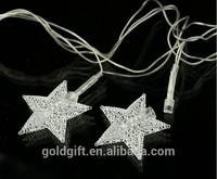 high quality led light star for christmas tree decoration