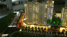 Shanghai 1/100 scale house model of Qingdao Zhongjiao real estate