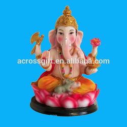 Baby Ganesh Bala Ganpati Indian Resin Sculpture