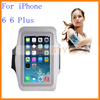 Hot Sellling Neoprene Waterproof Armband Case For iPhone 6 6 Plus Armband Case