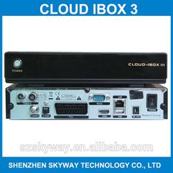Cloud Ibox 3 Tv Decoder Twin Tuner Cloud Ibox III / Cloud Ibox 2 Plus / Cloud Ibox3 Enigma2 Linux Digital Satellite Receiver